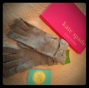 Kate Spade Bow Gloves